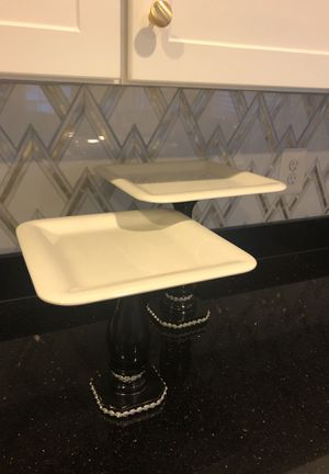 Cake stand pedestal set for Sale in Woodbridge, VA