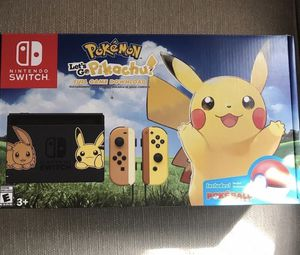 Nintendo Switch Pokémon limited edition brand new for Sale in Brockton, MA