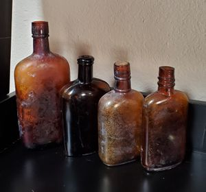Antique Brown Glass Bottles for Sale in Peoria, AZ