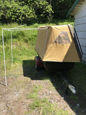 Motorcycle tent trailer for Sale in Arlington, WA