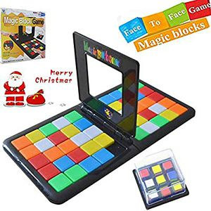 Longma Magic Block Game Parent-Child Activity Race Board Game Double Speed Desk Top 3D Cube Puzzle Blocks Game for Sale in Hawthorne, CA
