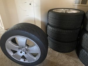 "Set of 18"" Stock Mercedes Rims and Tires for Sale in Norfolk, VA"