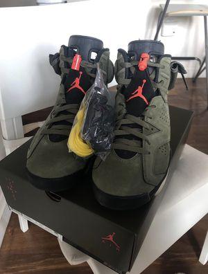 Travis Scott X Jordan Retro 6 Cactus Jack Size 9 for Sale in New Kensington, PA