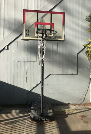 Basketball hoop needs new net for Sale in San Pablo, CA