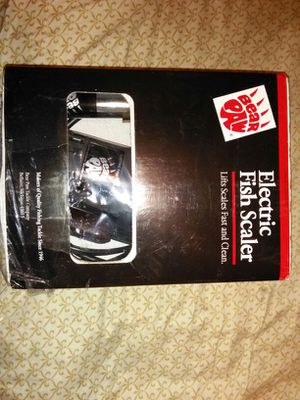 New bear paw electronic fish scaler for Sale in Nashville, TN