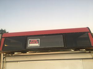 Red camper shell for $200 obo for Sale in Phoenix, AZ