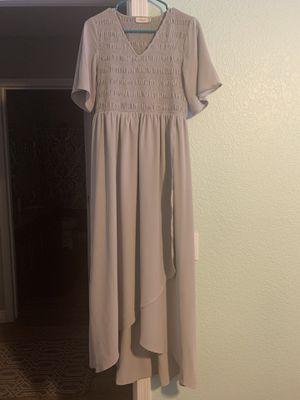 Roolee Maxi Dress in gray (M) for Sale in Phoenix, AZ