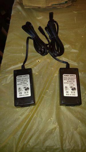 2 NEW POWER SUPPLY CORDS FOR LAPTOPS DESKTOPS TABLETS. for Sale in Philadelphia, PA