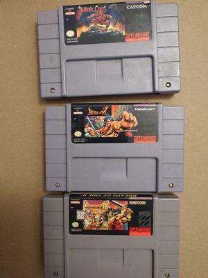 Super Nintendo (SNES) games for Sale in Tampa, FL