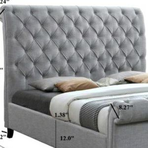 QUEEN SLEIGH PLATFORM BED 🚚SAME DAY DELIVERY /ın stock for Sale in Silver Spring, MD
