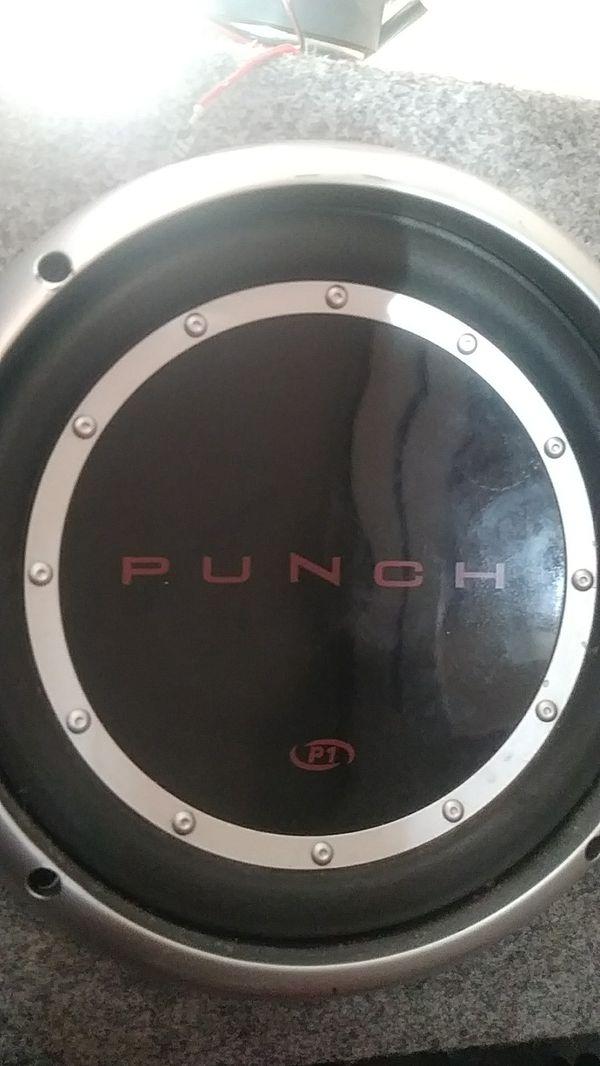Punch p1 subwoofer