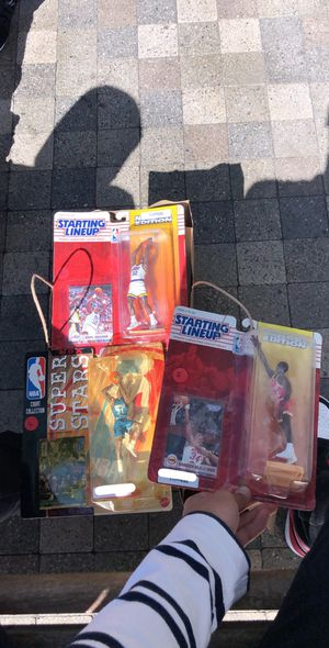 nba action figures for Sale in San Bruno, CA