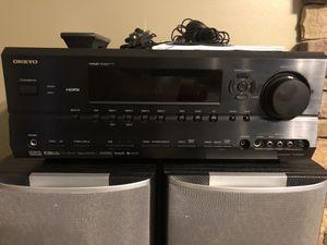 Onkyo TX-SR604 for Sale in Abingdon, MD