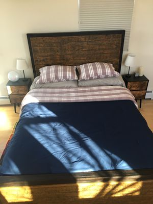 Queen Bed Frame for Sale in Santa Fe, NM