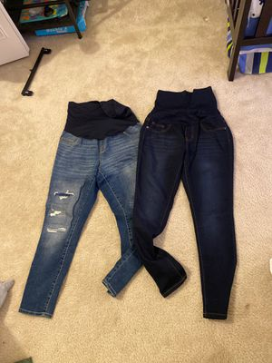 Maternity jeans size MED for Sale in Lombard, IL
