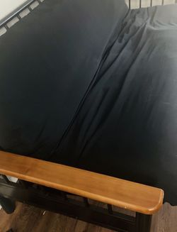 Futon Bed w/removable and washable cover for Sale in Florissant,  MO