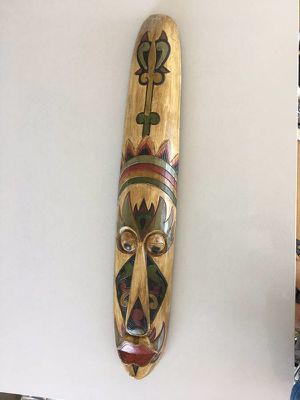 Bali original hand carved hand painted tribal mask- large for Sale in Brooklyn, NY