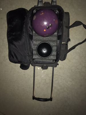 Bowling Bag, Ball, and Shoes for Sale in Simi Valley, CA