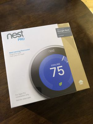 Google Nest - Learning Smart Thermostat - 3rd Generation (latest model) Brand new - sealed in plastic, factory seal present for Sale in Los Angeles, CA