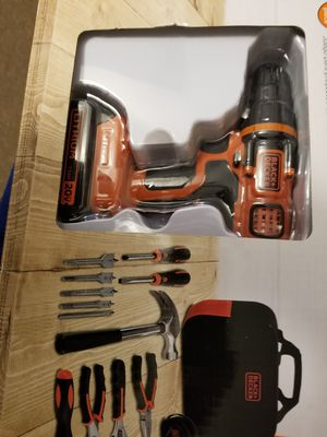 Black and Decker Drill set for Sale in Frederick, MD