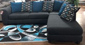 Black Sectional Sofa Couch!! Brand New for Sale in Chicago, IL