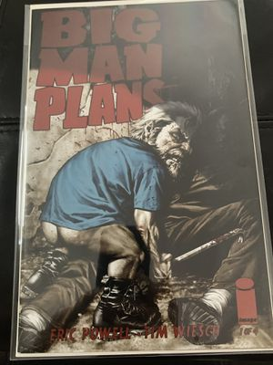 Image comic book Big Man Plans #1 rare Lee Bermejo variant for Sale in Upland, CA