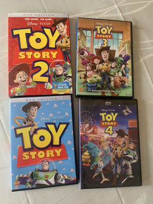 4 dvd toystory movies for Sale in Anaheim, CA