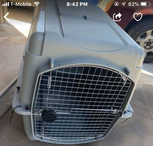 I have this large size dog crate for Sale in Laveen Village, AZ