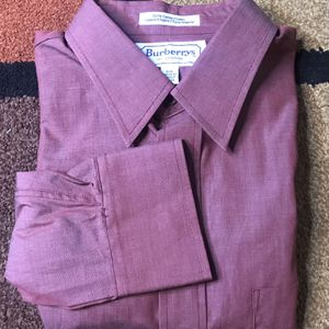 BURBERRY's of London Men's Dress Shirt Size 16 Long Sleeve 33 Button Down (Sz L) for Sale in Austell, GA