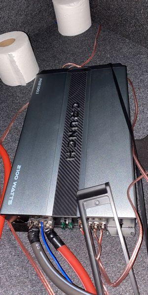 Crunch amplifier for Sale in Chicago, IL