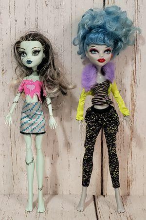 Monster High Dolls Lot of 2 Frankie Stein & Ghoulia Yelps for Sale in Harrisonburg, VA