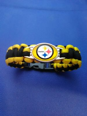 Pittsburgh Steelers Paracord Bracelet for Sale in Columbus, OH