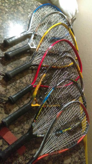 Many Racquetball Rackets, Bags & Equipment Much More Than is Pictured for Sale in Phoenix, AZ