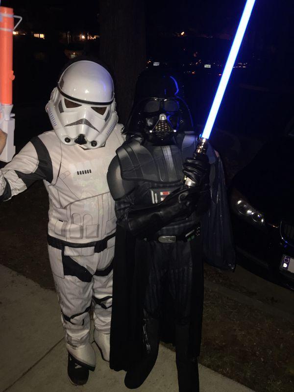 Dearth Vader Costume Child Large
