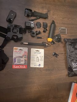 GoPro Hero Plus + Accessories for Sale in West Mifflin,  PA