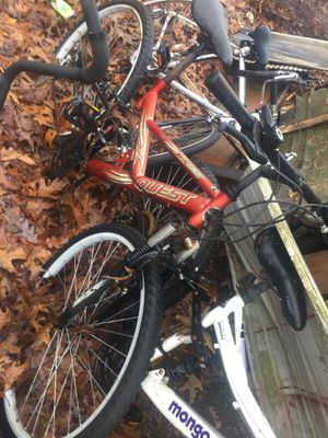 Assorted bikes 20-40 each 5 of them for Sale in BENTON, AR