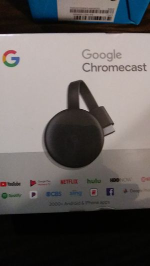 Google Chromecast. Brand new. for Sale in Corona, CA