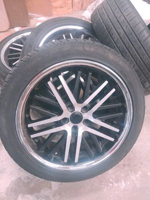 "20"" rims and tires for Sale in Southington, CT"