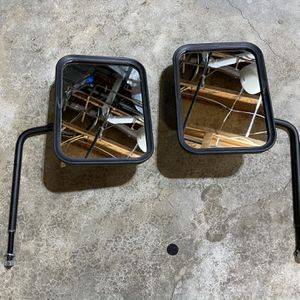 Jeep Wrangler removable Mirrors. for Sale in Fairfax, VA
