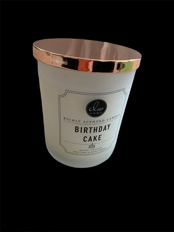 New DW HOME Birthday Cake Candle 15.3 oz
