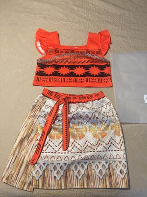 Moana costume (9-10) like new used once for Sale in Alta Loma, CA