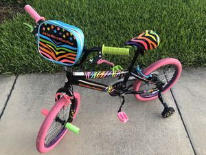 Colorful Girls bike bicycle rainbow for Sale in Apollo Beach, FL