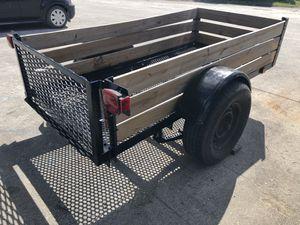 Utility trailer 4'X8' heavy duty full size tire for Sale in Hialeah, FL