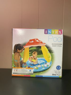 INTEX Pool Mushroom Baby Pool For Ages 1-3 years for Sale in Winter Haven, FL