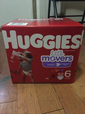 HUGGIES SIZE 6 52 pañales for Sale in Compton, CA