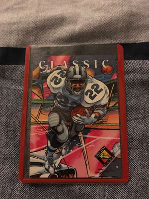 Emmitt smith rare football card for Sale in Fresno, CA