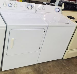 G/E washer and dryer set both works well for Sale in Seffner, FL