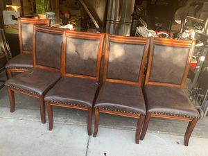 5- Kitchen Table Chairs all for $32 for Sale in San Jose, CA