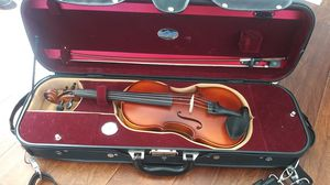 1/2 size Bunnel premier student violin outfit for Sale in Alpharetta, GA