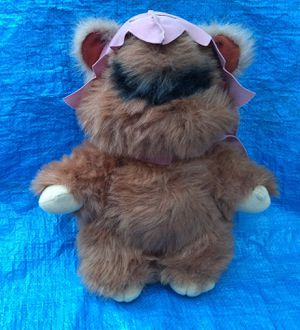 1983 Star Wars Return Of The Jedi Ewoks Wicket W. Warrick Stuffed Toy Figure Plush Vintage for Sale in Pasadena, CA